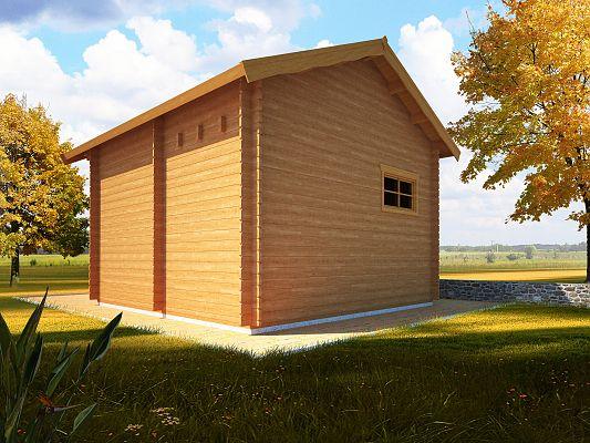 Rekreační chata Ellen - Ellen III 400x400 33 mm