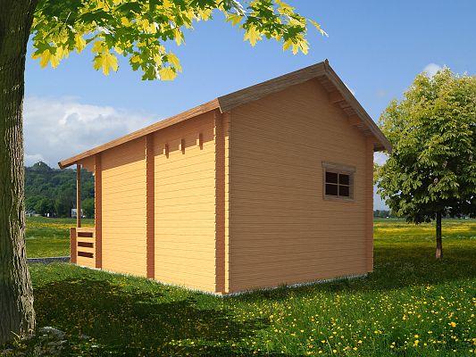 Rekreační chata Ellen - Ellen I 350x350 33 mm s terasou