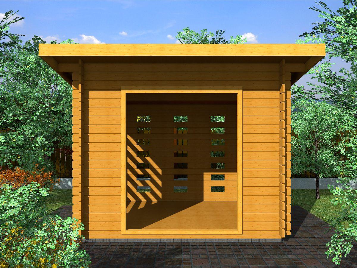 Dřevníky pro palivové dřevo - Dřevník Standard 250x250 28 mm