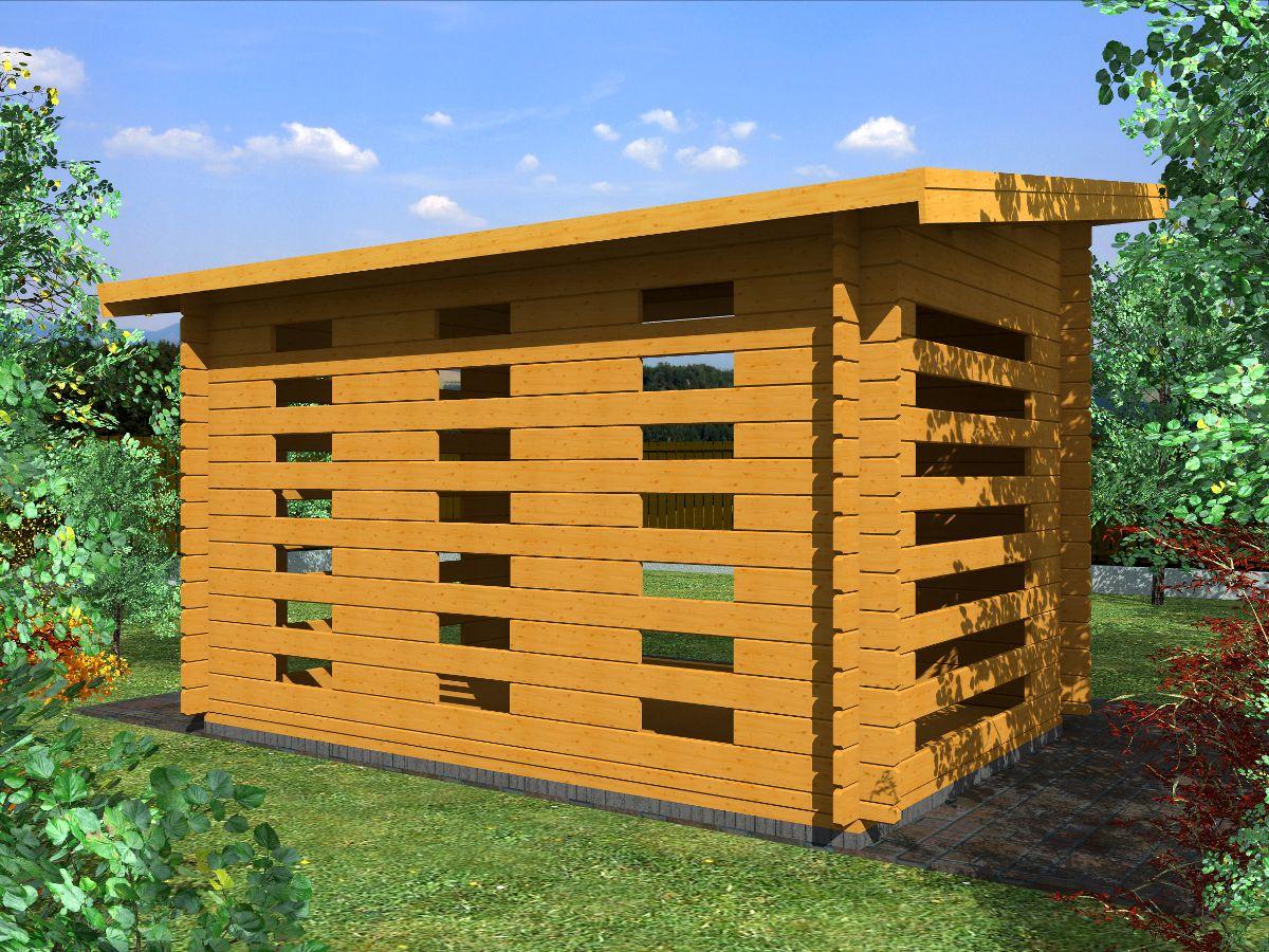Dřevníky pro palivové dřevo - Dřevník Standard 300x200 28 mm
