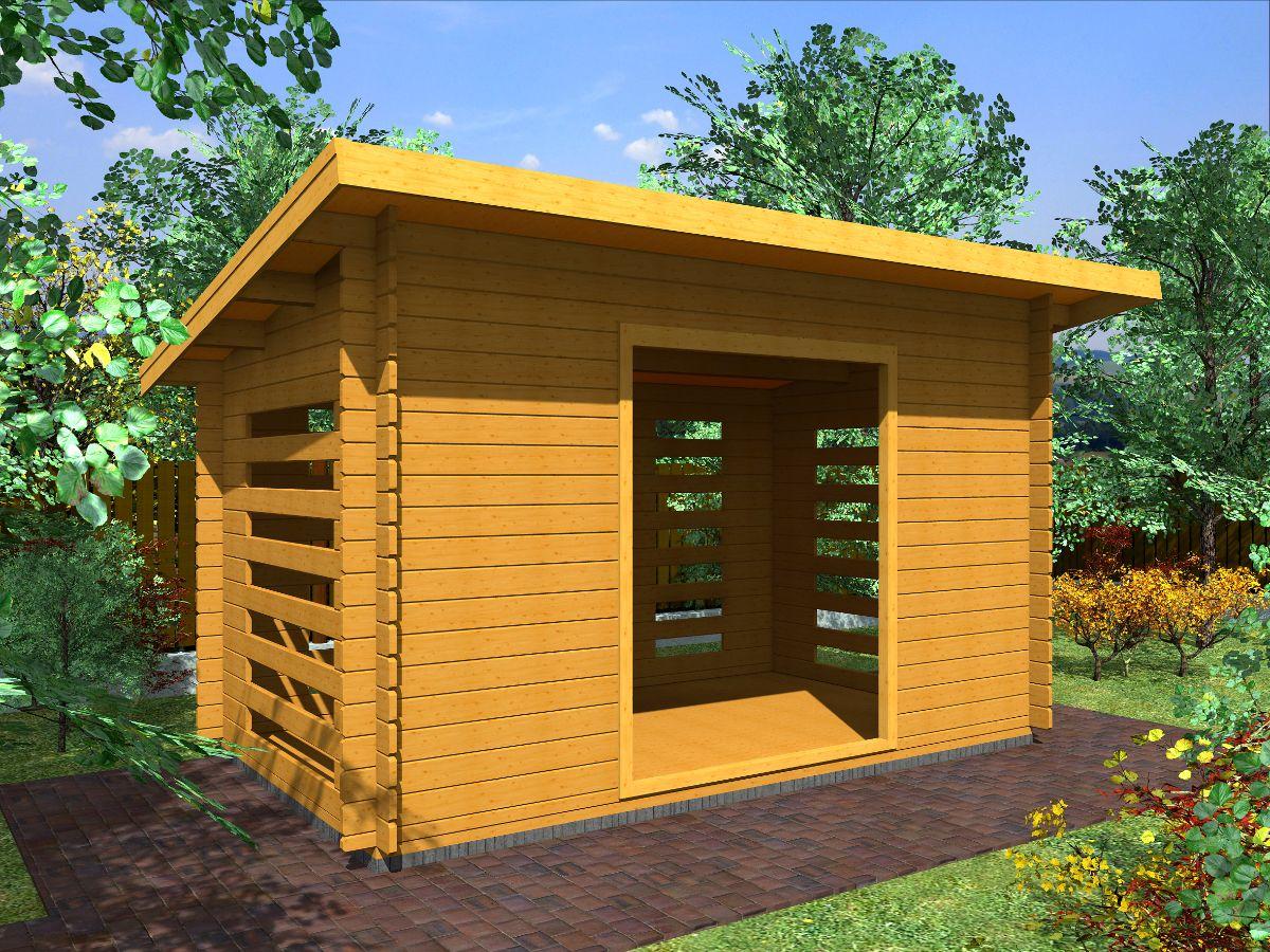 Dřevníky pro palivové dřevo - Dřevník Standard 350x200 28 mm