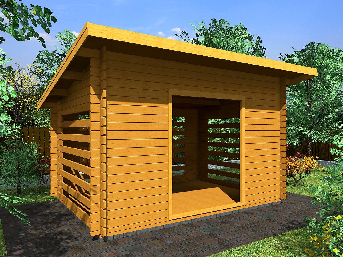 Dřevníky pro palivové dřevo - Dřevník Standard 350x250 28 mm