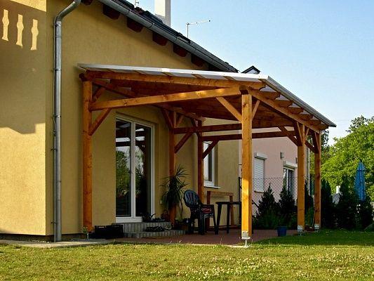 Zahradni-pergola-Klasik-250-470 - Zahradní pergola Klasik se střechou z dutinkového polykarbonátu - systém Click.