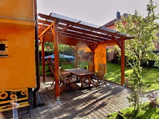 Pergola Standard 300x470_polykarbonát WT - Zahradní pergola se střechou z polykarbonátových desek WT.