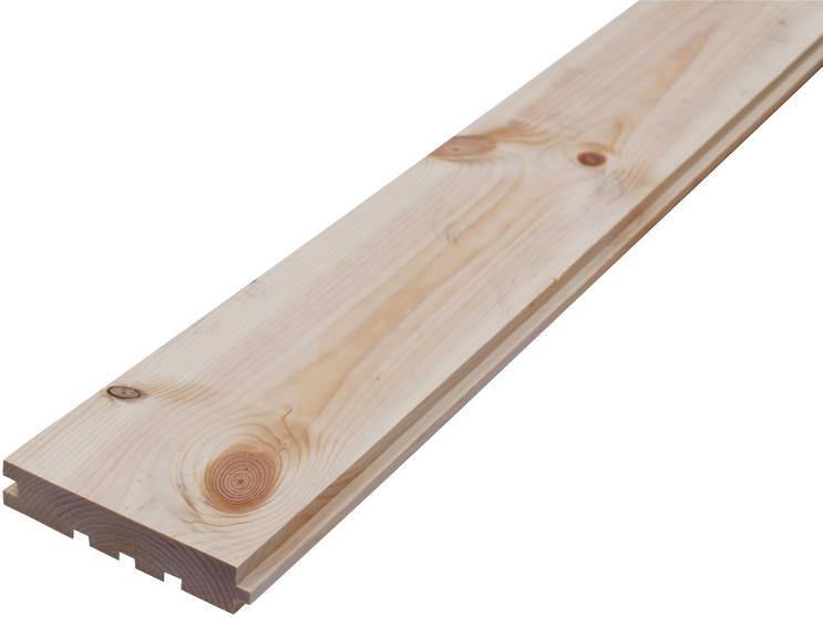 Podlahové palubky - Podlahové palubky BOROVICE 28x146x4200, kvalita A/B