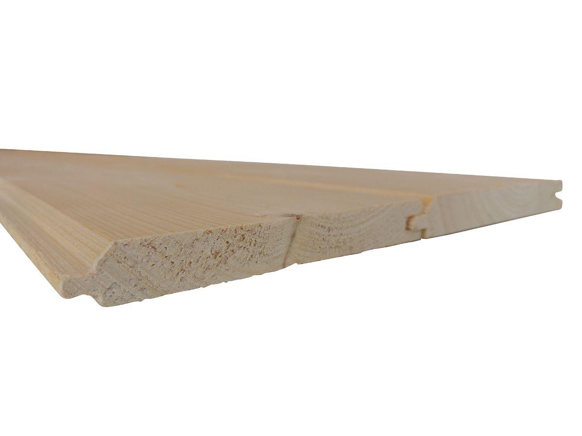 Palubky obkladové SMRK<br> síla 15 mm - Obkladové palubky SMRK 15x116x4000, kvalita A/B, krátké pero - klasik