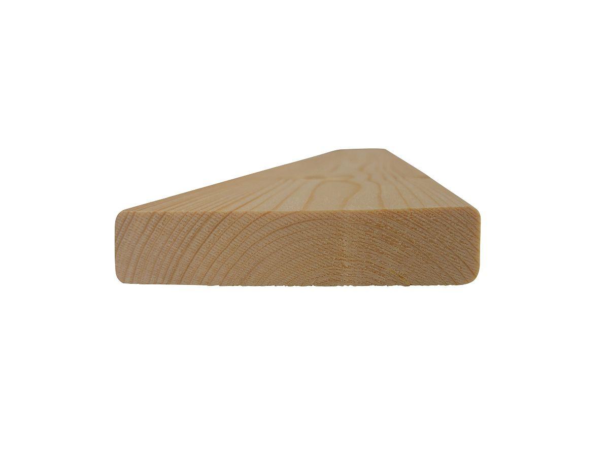 Plotovky s rovným koncem - Plotovky dřevěné ROVNÉ, smrk 18,5x90x1200, kvalita A/B