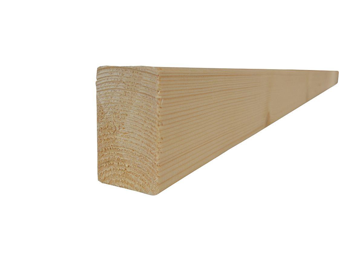 Plotovky s rovným koncem - Hranol dřevěný RÝGL, smrk 50x65x4200, kvalita A/B