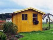 Laura_přesah 30 cm - Zahradní domek Laura 300x250 cm s čelním přesahem 30 cm. Standardní provedení.