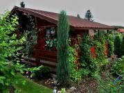 Relax 250x250 28 mm - Zahradní chatka Relax - standardní provedení. Rozměr domku je atypický, dle přání zákazníka.