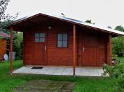 Zita 440x300_170 - Zahradní chatka Zita s čelním přesahem střechy 170.