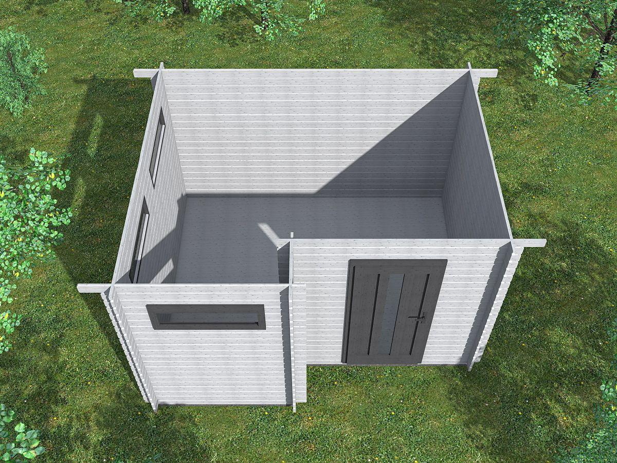 Ueli 350x300 - vnitřní pohled - Vnitřní pohled do moderního domku Ueli.