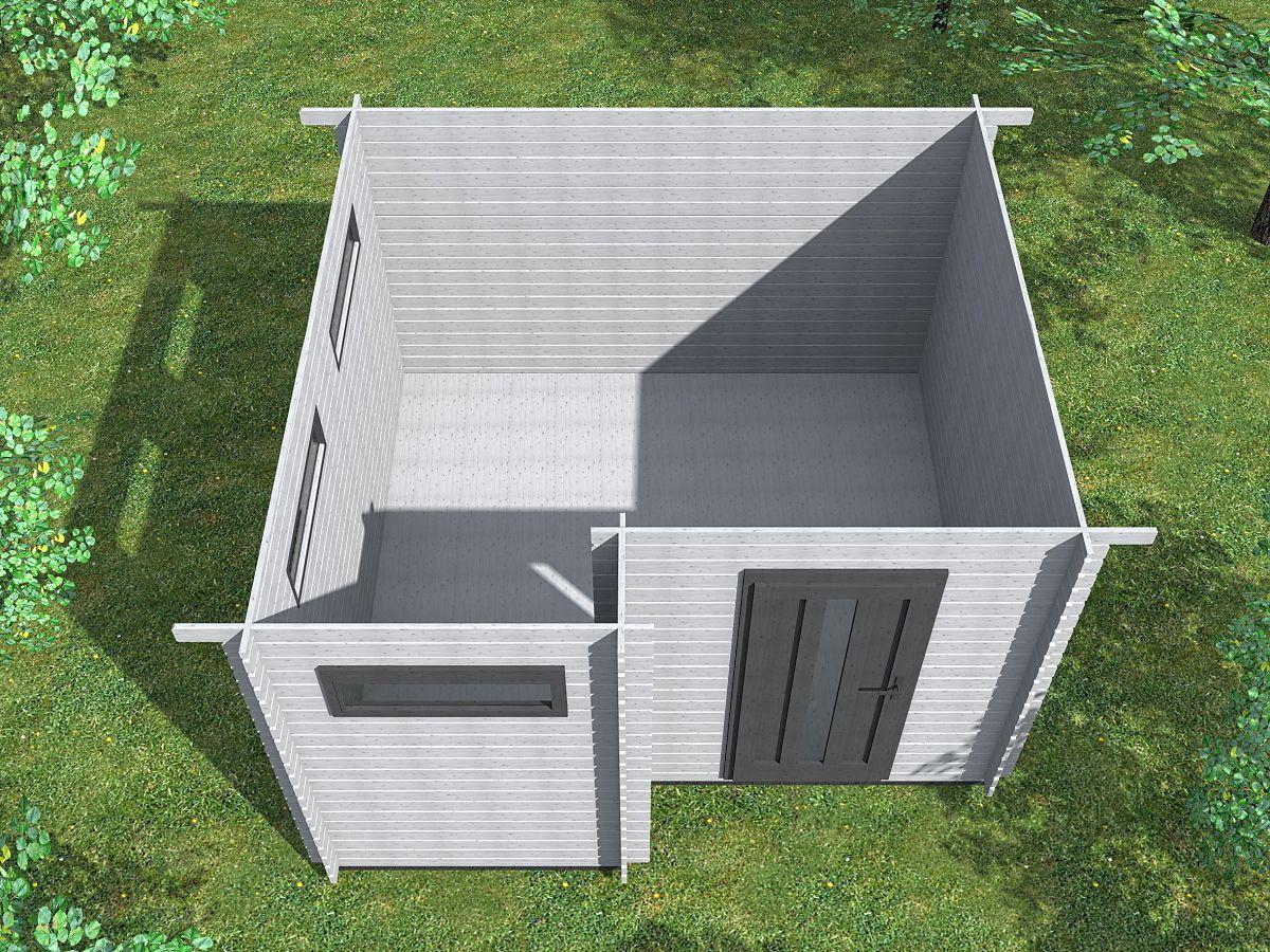 Ueli 350x350 - vnitřní pohled - Vnitřní pohled do moderního domku Ueli.