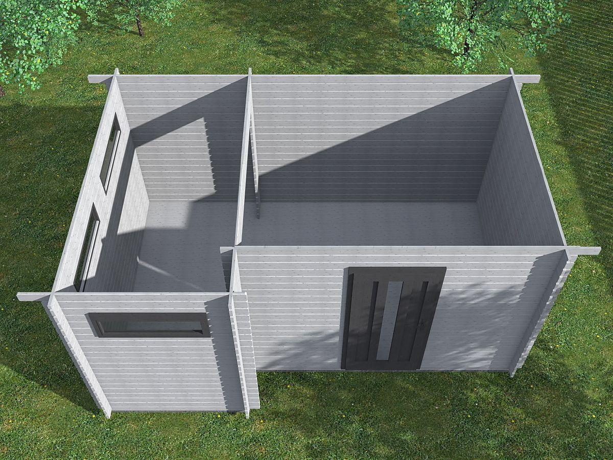 Ueli 450x300 - vnitřní pohled - Vnitřní pohled do moderního domku Ueli.
