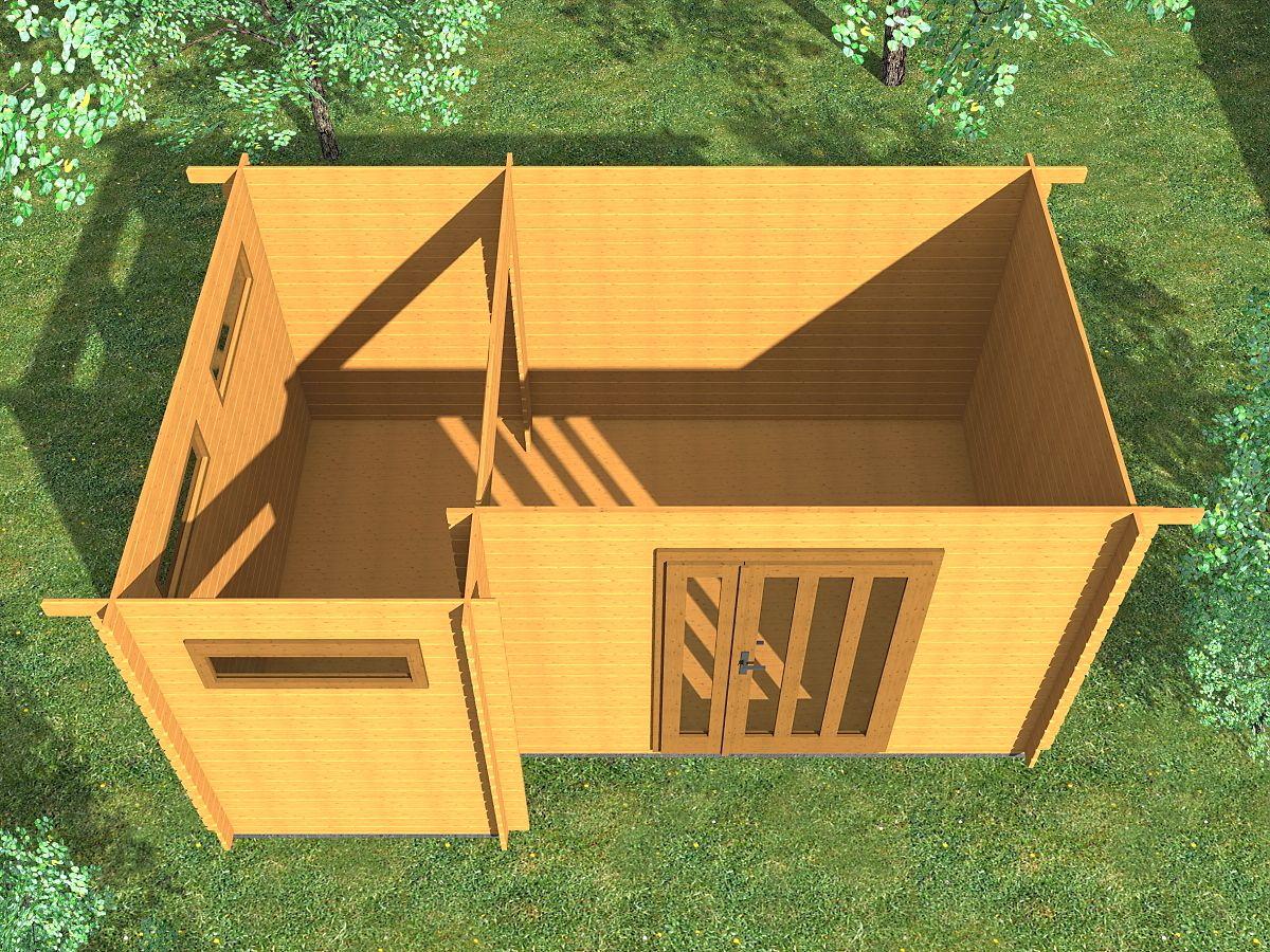 Ueli DD 450x300 - vnitřní pohled - Vnitřní pohled do moderního domku Ueli.
