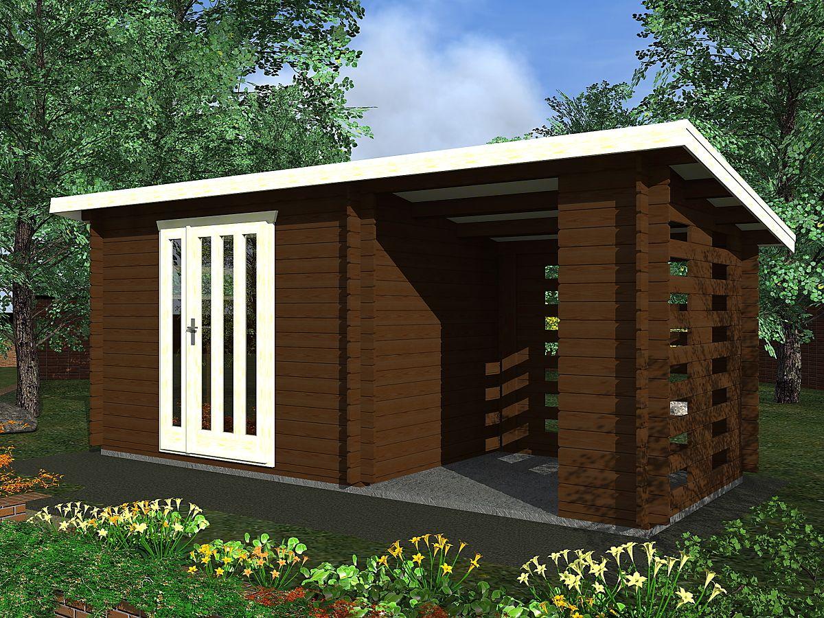 Kamal 3_300x200 - Nářaďový zahradní domek Kamal 3. Standardní provedení.