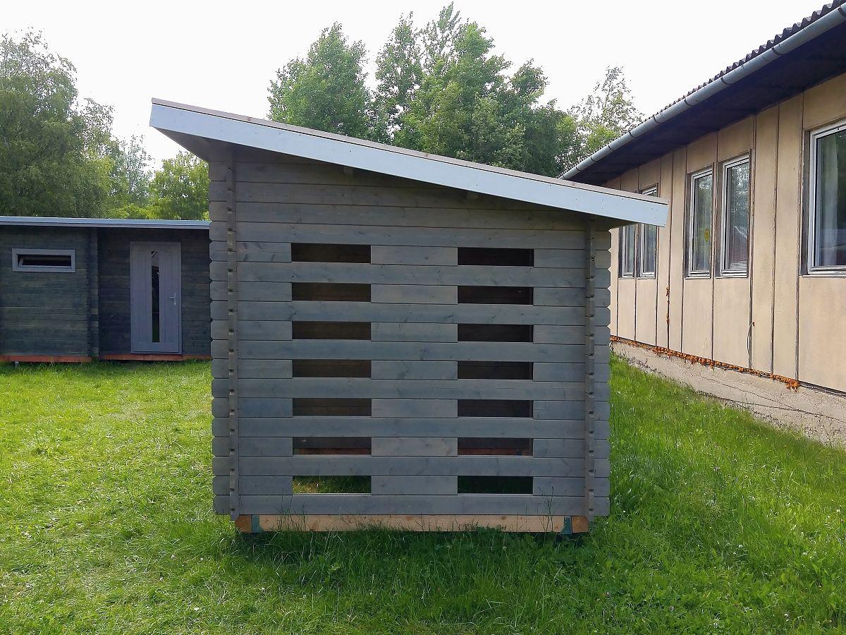 Kamal 3_300x250 - Nářaďový zahradní domek Kamal 3. Standardní provedení.