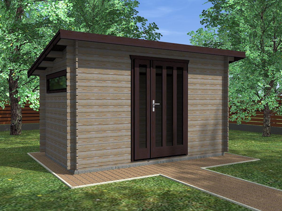 Kevin EKO 350x200 - Nářaďový zahradní domek Kevin EKO. Standardní provedení.