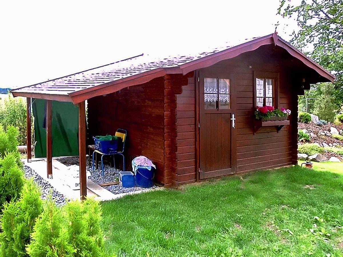 Laura EKO_PR_300x300 - Zahradní domek Laura EKO s bočním přístřeškem.