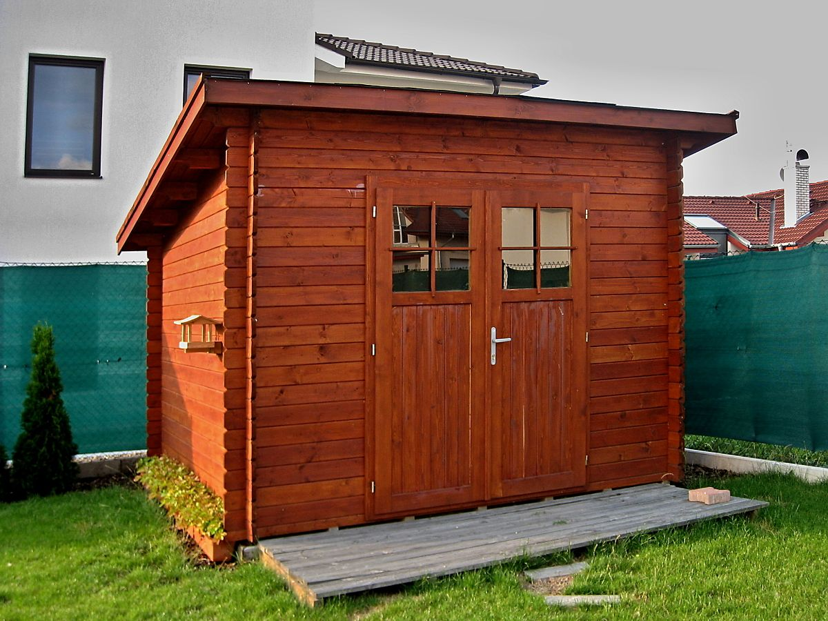 Zahradní domky na nářadí Robin EKO - Robin EKO DD 350x250 28 mm