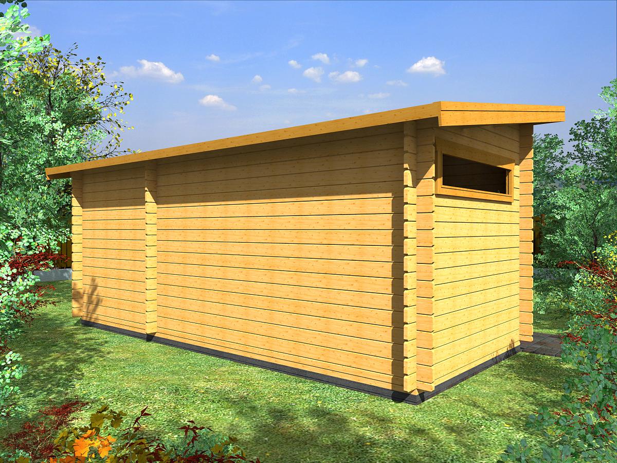 Zahradní domky na nářadí Kamal<br> a Toby EKO - Kamal 4 EKO 460x200 28 mm