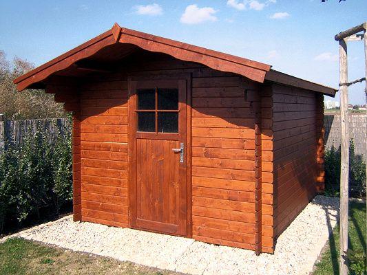 Zahradní domky na nářadí Albert - Albert 250x300 28 mm