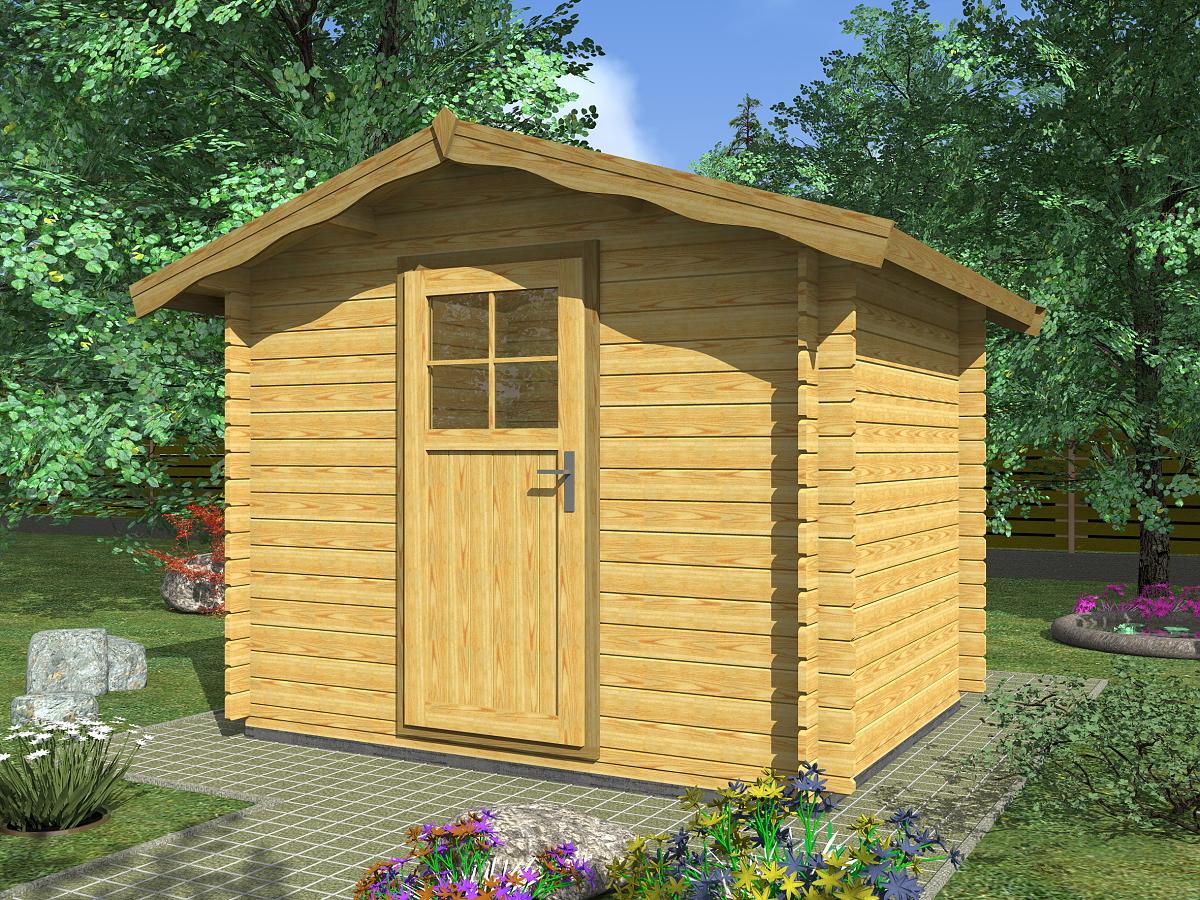 Zahradní domky na nářadí Albert EKO - Albert EKO 250x200 28 mm