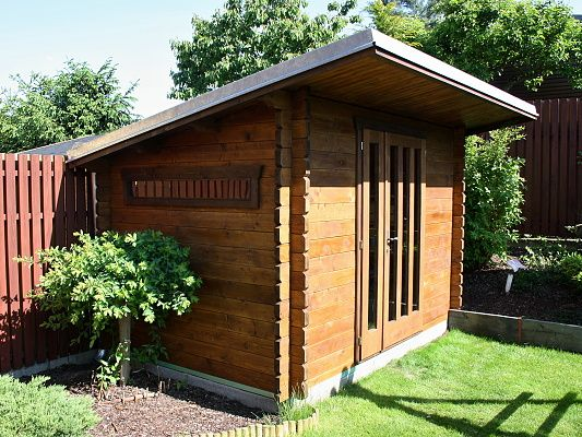 Zahradní domky na nářadí Kevin - Kevin 250x250 28 mm