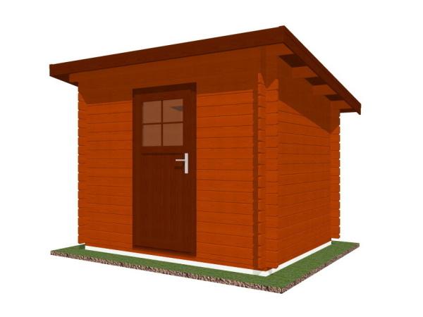 Zahradní domky na nářadí Robin - Robin 250x200 28 mm
