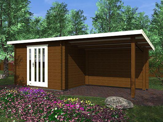 Zahradní domky na nářadí Kamal a Toby EKO - Toby 1 EKO 300x200 28 mm