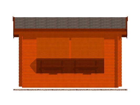 Prodejní stánek Klasik - stánek Klasik 350x200 28 mm