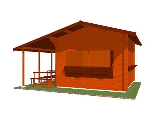 Prodejní stánek Multi - stánek Multi 350x350 28 mm