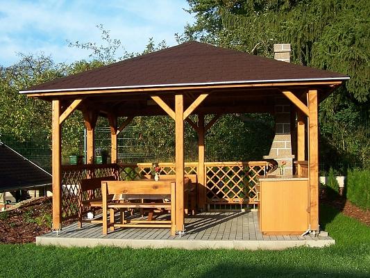 Altán Atelier - Zahradní altán Atelier 600x600 KVH