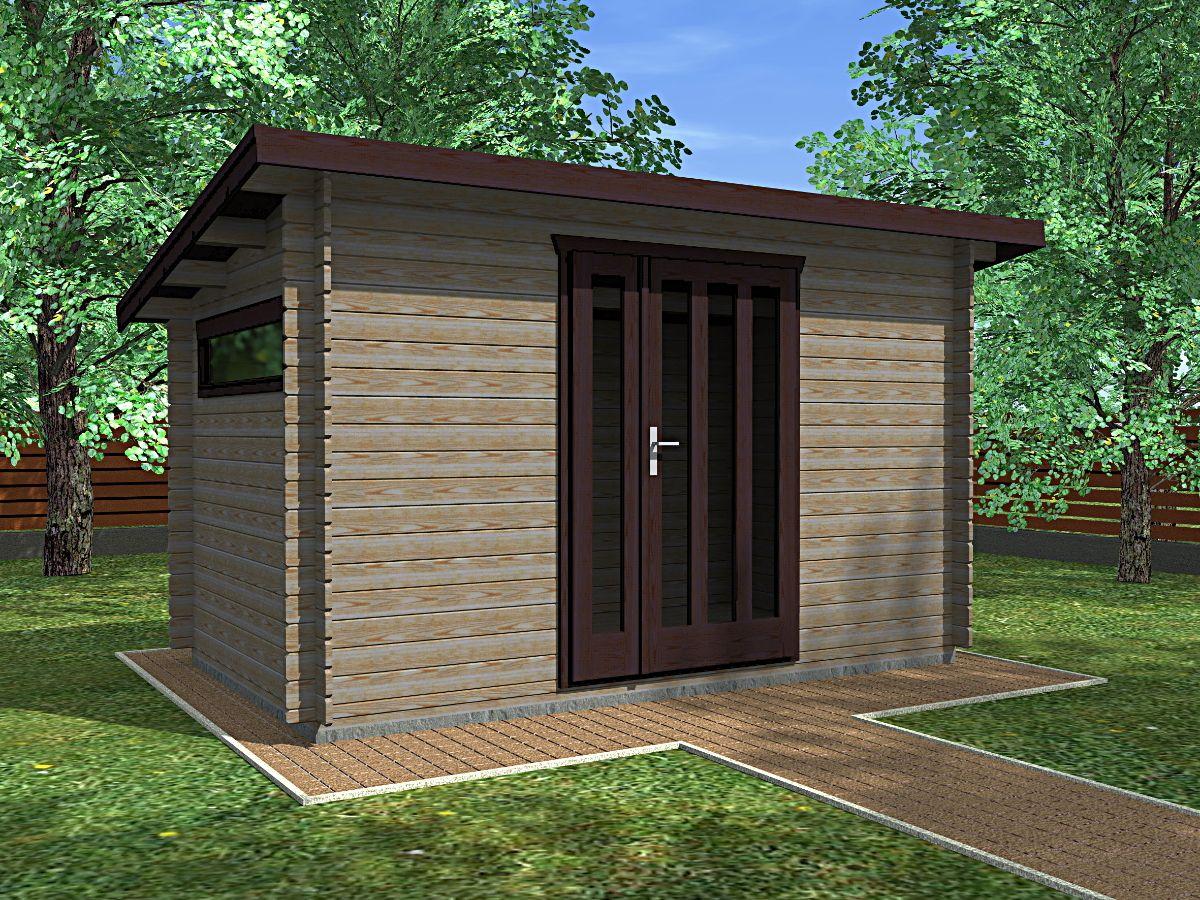 Zahradní domky na nářadí Kevin EKO - Kevin EKO 350x200 28 mm