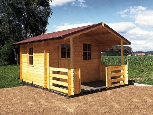 Zahradní chatky Luka - Luka 450x400 33 mm