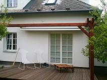 Pergola s posuvnou střechou
