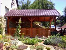 Garážové stání 300x600 cm se sedlovou střechou