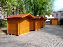 Stánky v Novém Městě na Moravě