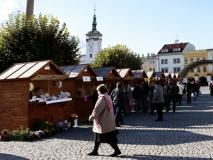 Stánky v Kroměříži