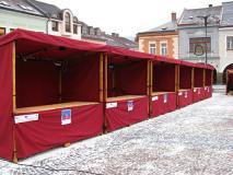 Stánky v Ústí nad Orlicí